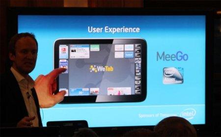 La tablet WeTab apuesta por MeeGo