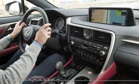 Lexus RX 450h toma contacto prueba