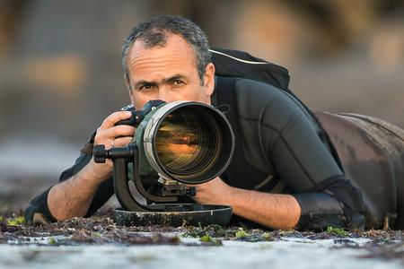 Mario Suarez Fotografiando