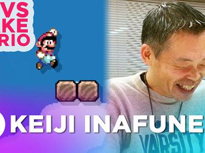 Ahora es el turno de Keiji Inafune, quien crea y comparte un nivel de Super Mario Maker