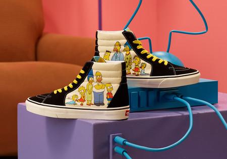 Vans hace equipo con 'Los Simpsons': esta es la colección de tenis y ropa que llegará a México