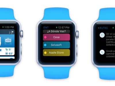 Los autobuses de Madrid se apuntan al Apple Watch con su propia aplicación oficial