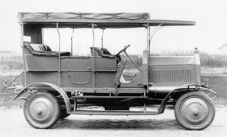 Dernburg-Wagen vista lateral