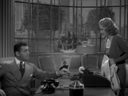 'Entre Esposa y Secretaria', entre Myrna Loy y Jean Harlow