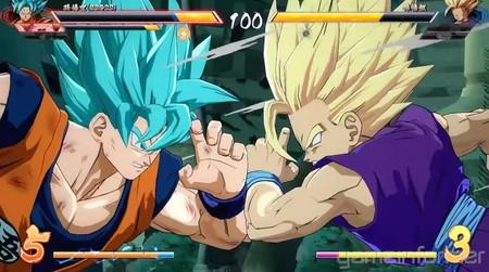 Dragon Ball Fighterz Goku Ssb Son Gohan