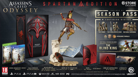Assassins Creed Odyssey Spartan Edition