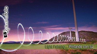 Pintar con luz, un mundo de posibilidades creativas