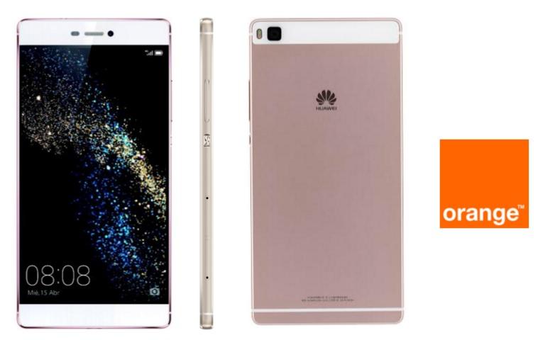 Huawei p8 en rosa llega en exclusiva a orange precios y for Huawei p8 te koop
