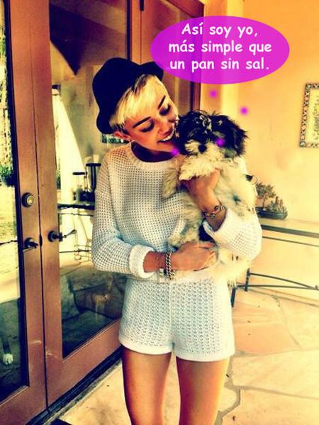 """Miley Cyrus da razones de peso para comprometerse: """"era lo suyo, ¿no?"""""""