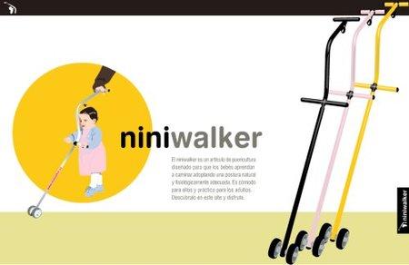 Niniwalker: nuevo artilugio para aprender a andar