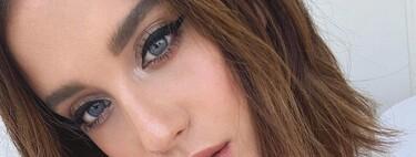María Pedraza cambia de look y se tiñe el pelo del negro azabache que mejor queda con su color de ojos