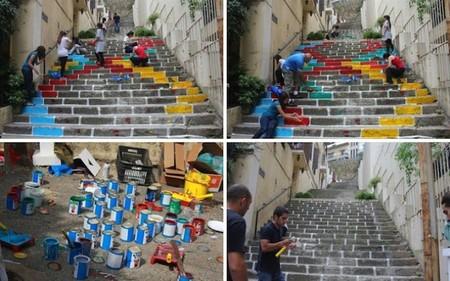 escaleras colores 2