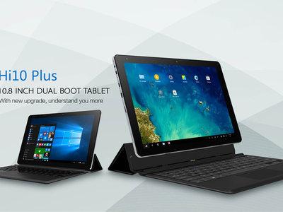 Tablet Windows Chuwi Hi10 Plus, con Intel X5 y teclado, por 128,14 euros con este cupón