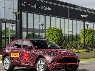 Aston Martin perfecciona todos los detalles para el inicio de producción de su primer SUV: DBX
