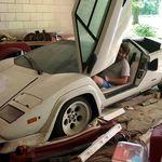 ¡Tesoros de garage! Encuentran un Lamborghini Countach original que fue guardado hace 20 años