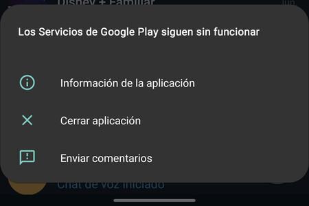Servicios Google Play