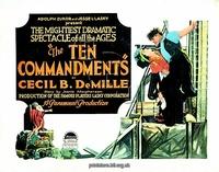 Cine mudo: 'Los diez mandamientos' de Cecil B. DeMille