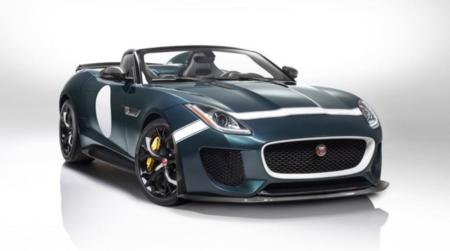 Jaguar presenta el F-TYPE PROJECT 7 su más potente vehículo en edición limitada