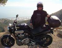 Disfrutar del sol de invierno con la moto