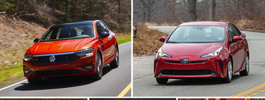 Toyota Prius vs. Volkswagen Jetta and the like: A hybrid at a constant constant price