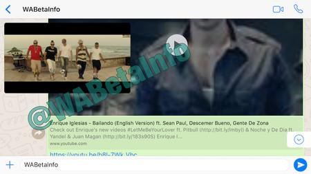 WhatsApp integrará los vídeos de YouTube: ya no será necesario cambiar de app para verlos