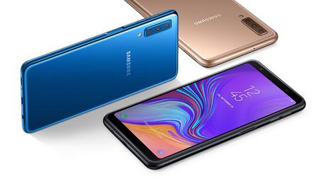 Samsung Galaxy A7 (2018), con triple cámara, por 269 euros en eBay