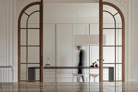 La cocina invisible que se mimetiza con el entorno
