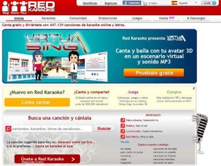 Red Karaoke, una red social para los amantes del mundo de la canción. A fondo