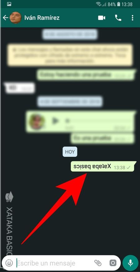 Texto Al Reves