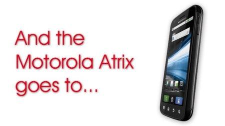 Y el reto ganador del Motorola Atrix es...