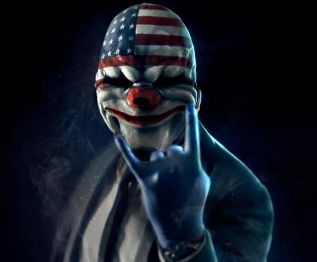 'PayDay 2' se funde con 'El Caballero Oscuro' en su teaser tráiler