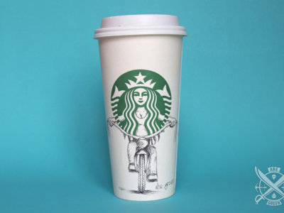 La vida secreta de la sirena de Starbucks al descubierto gracias a estas ilustraciones