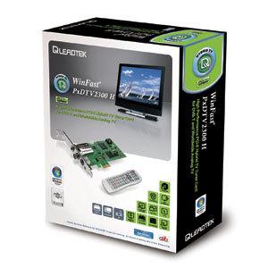 Leadtek WinFast PxDTV2300, sintonizador por PCI Express