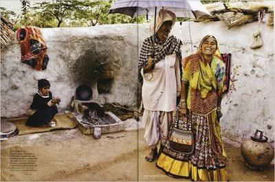 Vogue India pobres