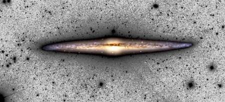 Cada segundo que pasa nuestra galaxia aumenta de tamaño unos 500 metros