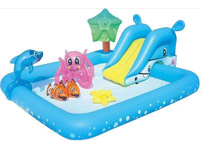 Piscina Aquarium con juegos por sólo 39,99 euros y gastos de envío gratuitos en Drim