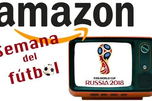 Nuevas ofertas de Amazon en la Semana del Fútbol para animar a tu equipo desde casa a los mejores precios