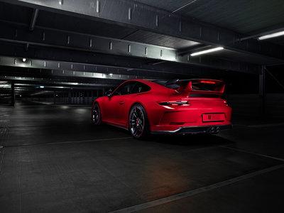 Techart se atreve con el Porsche 911 GT3, y lo atiborra de fibra de carbono