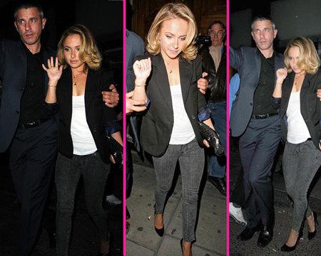 Hayden Panettiere de fiesta en Londres y con rumores de romance