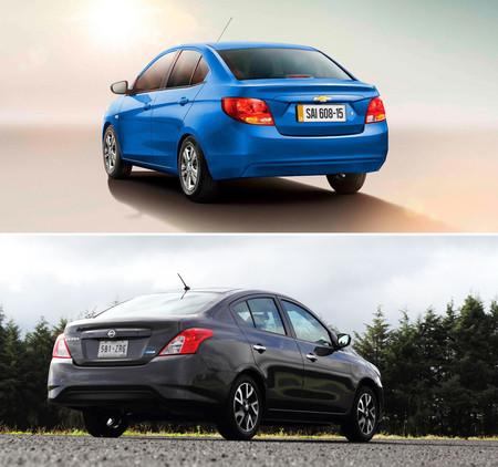 Chevrolet Aveo Vs Nissan Versa 2