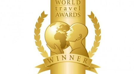 Algunos de los premiados en los World Travel Awards 2012