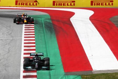 Bottas Perez Estiria F1 2021