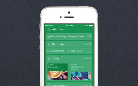 Todas las novedades de Evernote en iOS 7