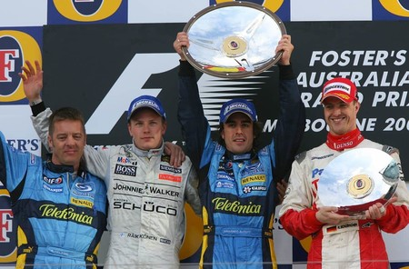Alonso Australia F1 2006