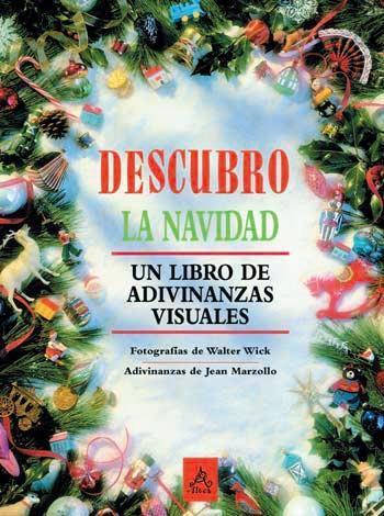 """""""Descubro la Navidad"""", libro de adivinanzas visuales"""
