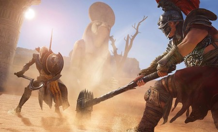 Assassin's Creed Origins replantea el sistema de combate de la saga e incorpora elementos de... ¿hack'n slash?