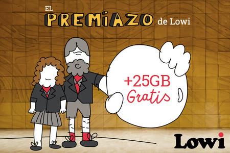 1ce0b78da3b86 Lowi regala 25 GB de datos a todos sus clientes por Navidad