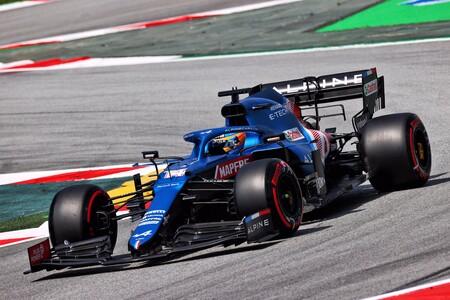 Alonso Montmelo F1 2021