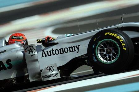 El simulador le provoca mareos a Michael Schumacher