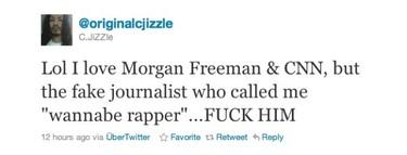 Morgan Freeman no estaba muerto, estaba de parranda